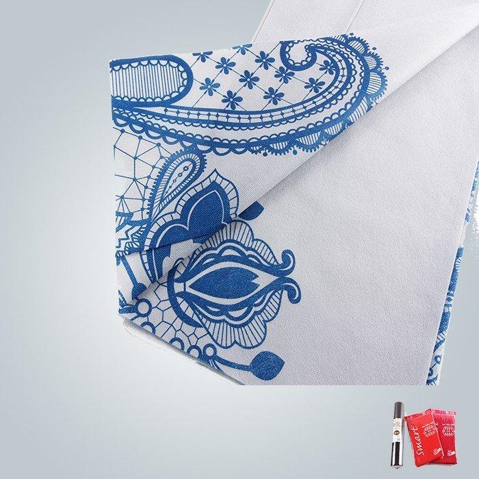 40 グラム、60 グラム印刷不織布テーブル クロスおよびマットレスで使用されます。