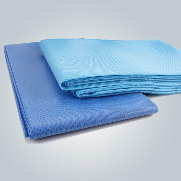nicht perforierte pp gewebte Bettlaken für Salon spa
