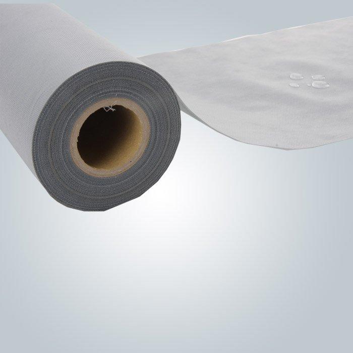 pp spunbond non tissée avec noyau de papier de 3 po