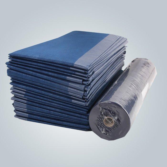 良い強度・伸度・病院用不織布シーツを積層