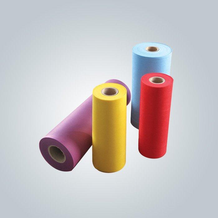 polypropylène non tissé filé 60gsm servile pare-poussière