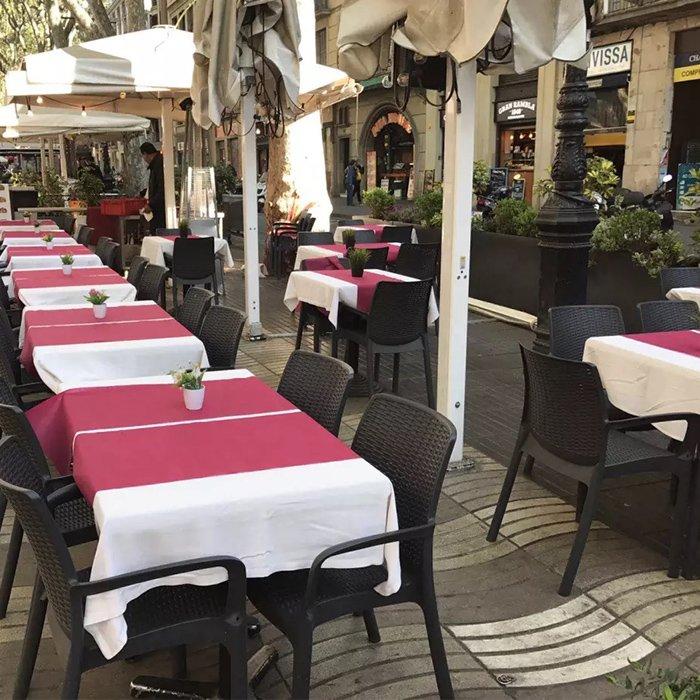 ポリプロピレン tnt テーブル クロス 1 m × 1 m に欧州市場