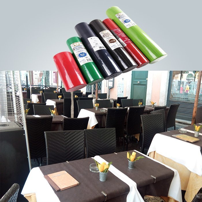 60gsm non woven table runner in pre-cut roll