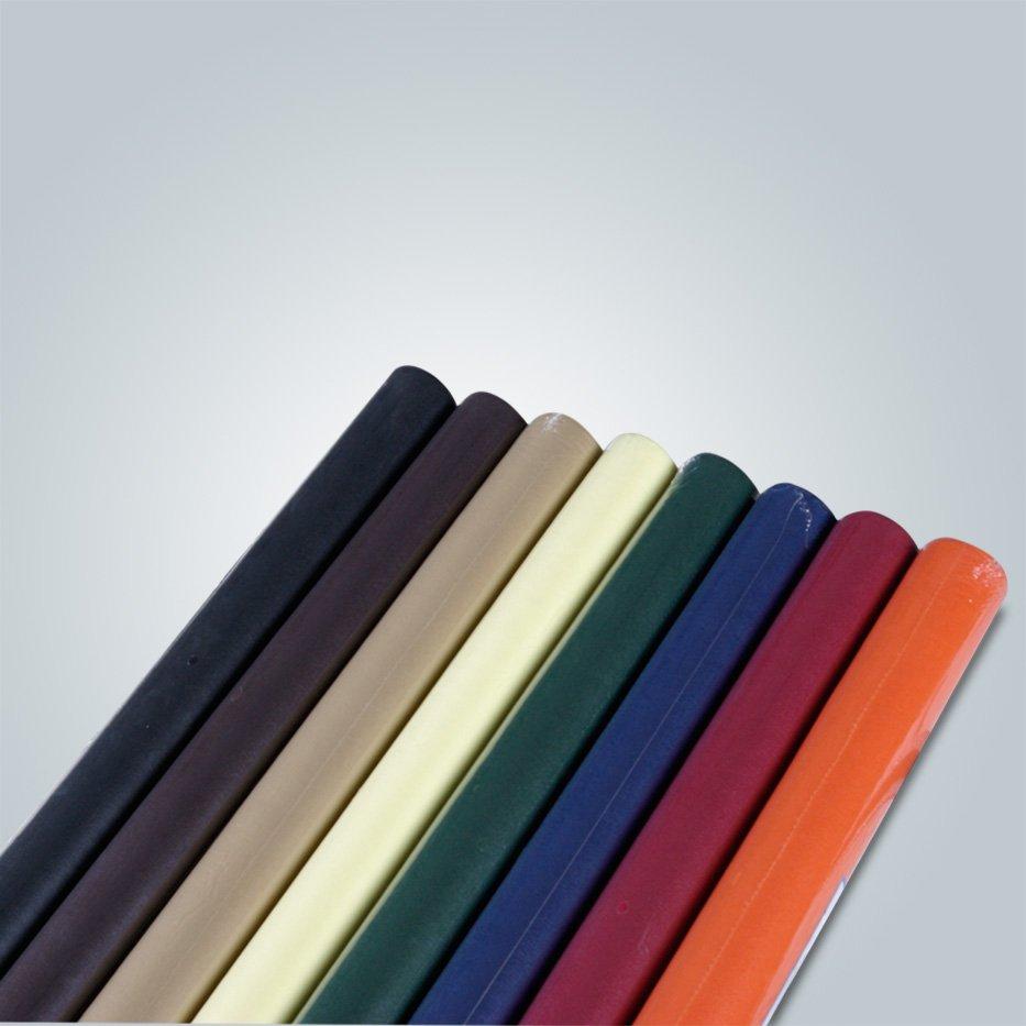 Rouleaux de tissu de table jetable TNT non tissé avec le service d'OEM