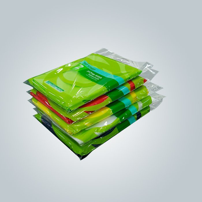 Full color printing non woven table cloths with SGS certificate