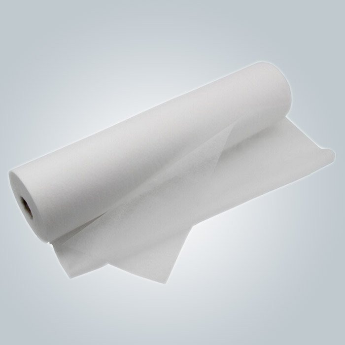 Eco - Friendly Disposable Bed Sheets Roll with perforation line For Clinic Table Chair