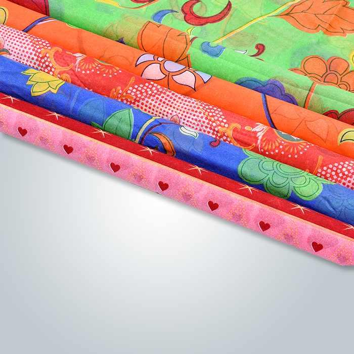 最大6色230cm幅の印刷スパンボンド不織布(室内装飾用)