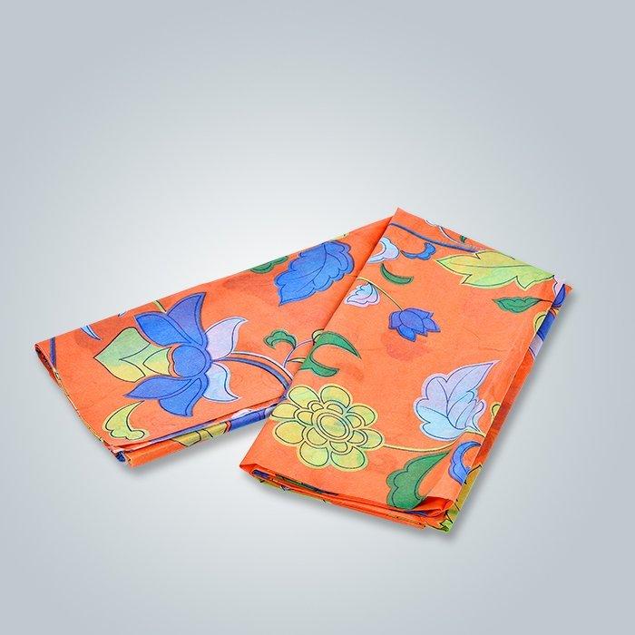 良い価格印刷美しい花パターン PP スパンボンド不織布