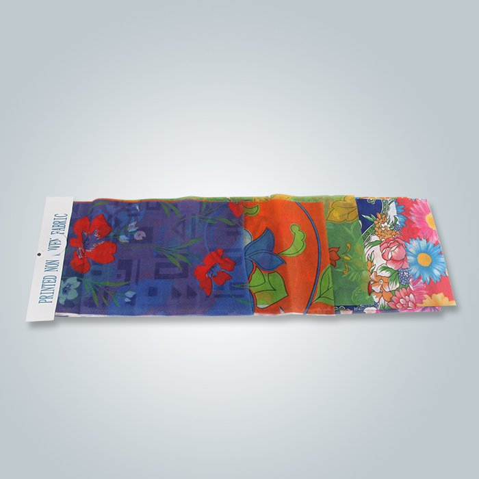 180cm OEM Stype Printed Nowoven For Disposable Dinner Table Cloth