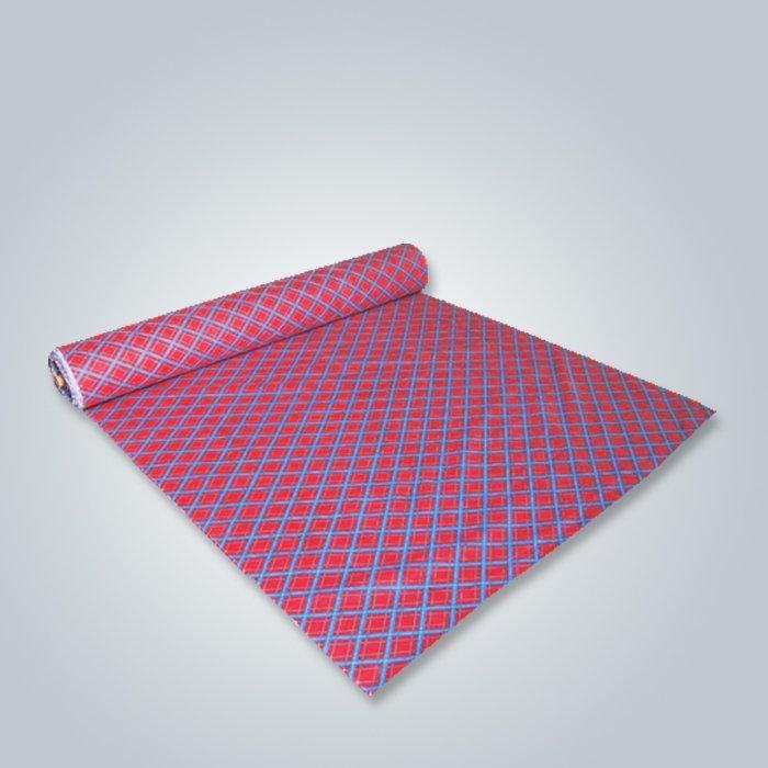 Usine de Foshan imprimé tissu non-tissé Technics pour usage de meubles