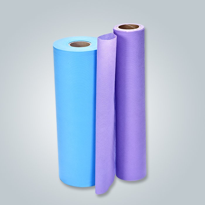 SGS Certified Light Blue Color Water Absorbent PP Spunbond Nonwoven Fabric