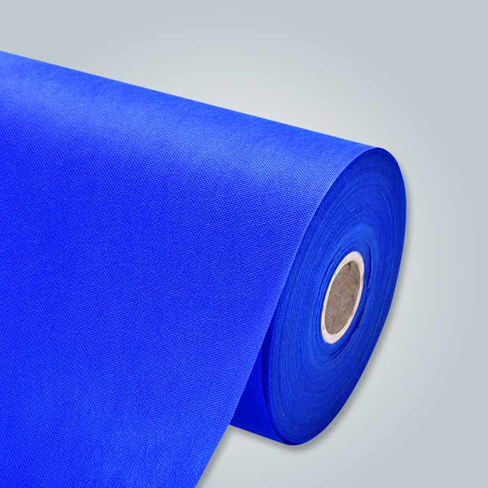 Nicht blau pp gewebte Stoff für Einweg-Bettlaken