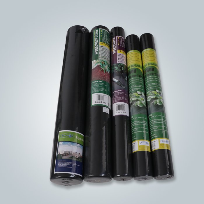 Horticulture non woven weed barrier landscape fabric