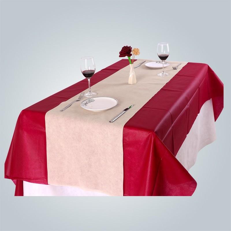 Nappe non tissée Bordeaux TNT pour fête