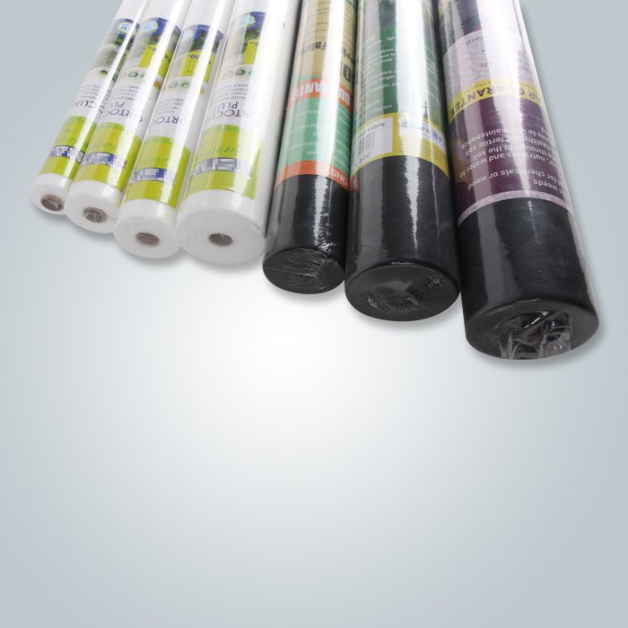 Agricultural cover non woven spunbond weed control fabric