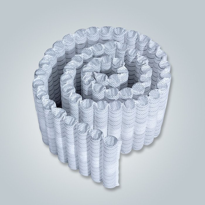 70GSM Blue / White Nonwoven for Sofa Spring