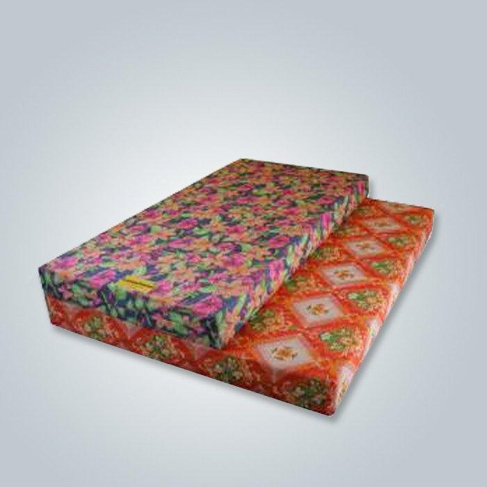 Tissu imprimé pour la couverture de matelas