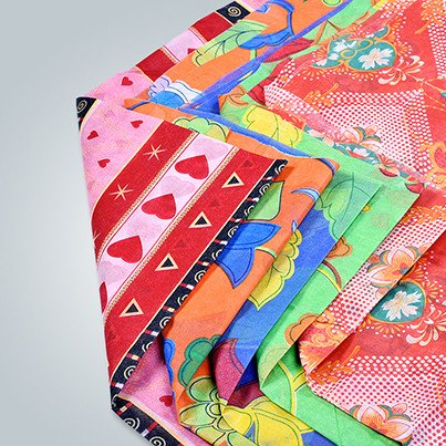 Printed Nonwoven Fabric for Bedding Covers