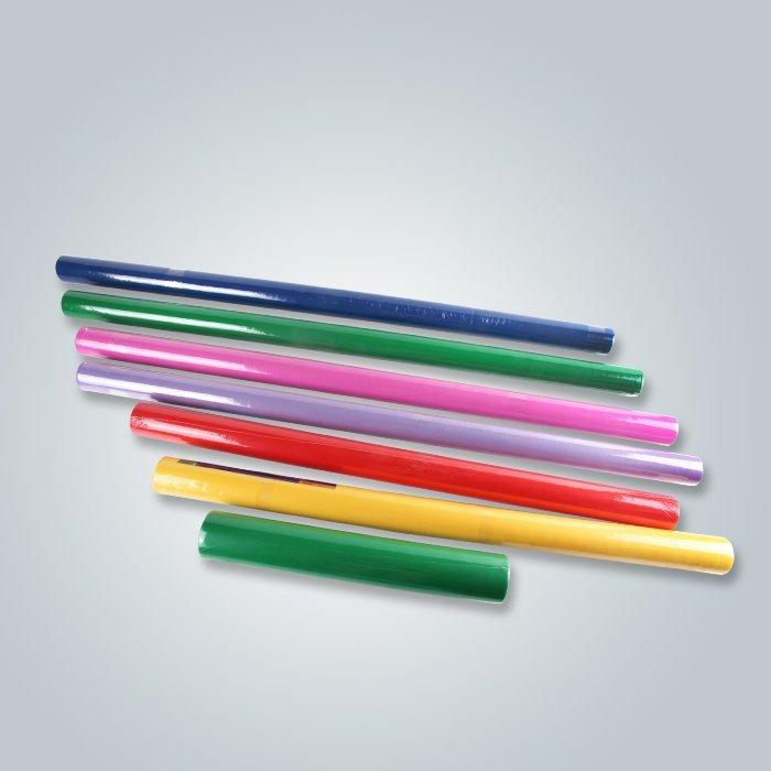 Petit emballage en rouleau Tissu non tissé à différentes couleurs