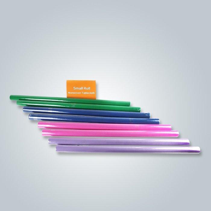 Kleine Rollenverpackung, die nicht Gewebe in den verschiedenen Farben umfasst