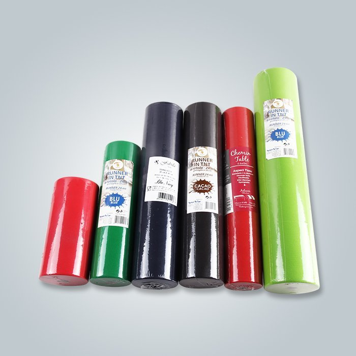 Small of 15m PP Non Woven Fabric Roll For Table Cloth