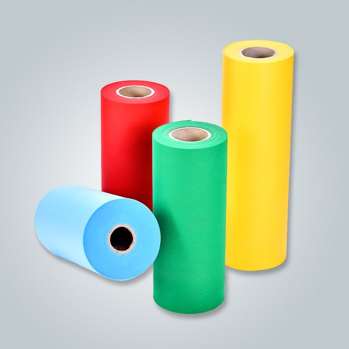 TNT Fabric Raw Material PP Spunbonded Nonwoven For Tablecloth