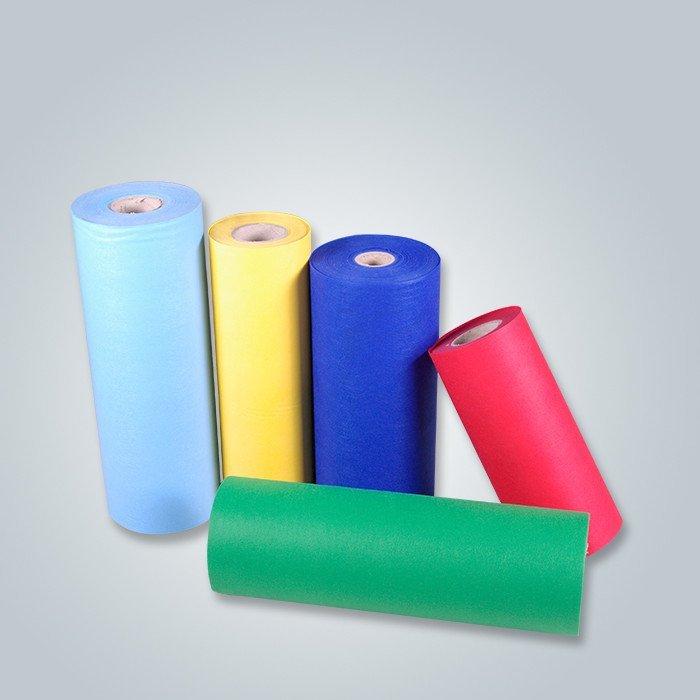 Telas no tejidas ecológicas de los tejidos de las telas de materia textil de Foshan Fabricantes