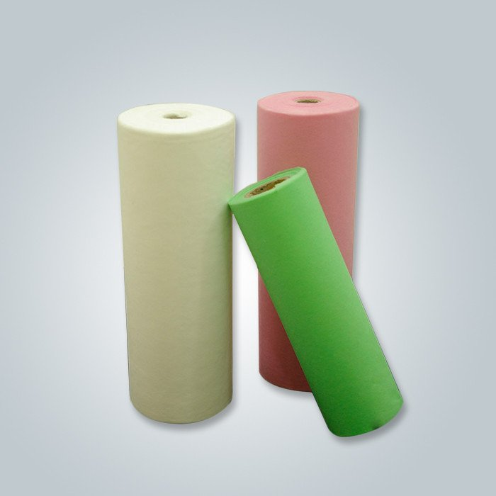 Standard width 1.6m 2.4m assorted color 100% virgin pp spunbond nonwoven fabric