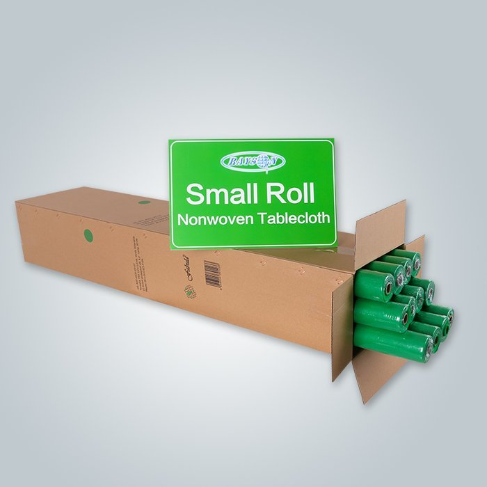 green non woven table cloth roll
