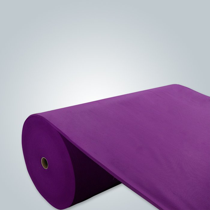 Purple spunbond non woven fabric packing material