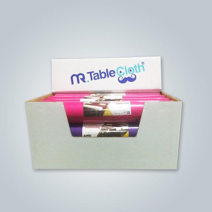 Rouleaux de linge de table préfabriqués / chiffon non tissé