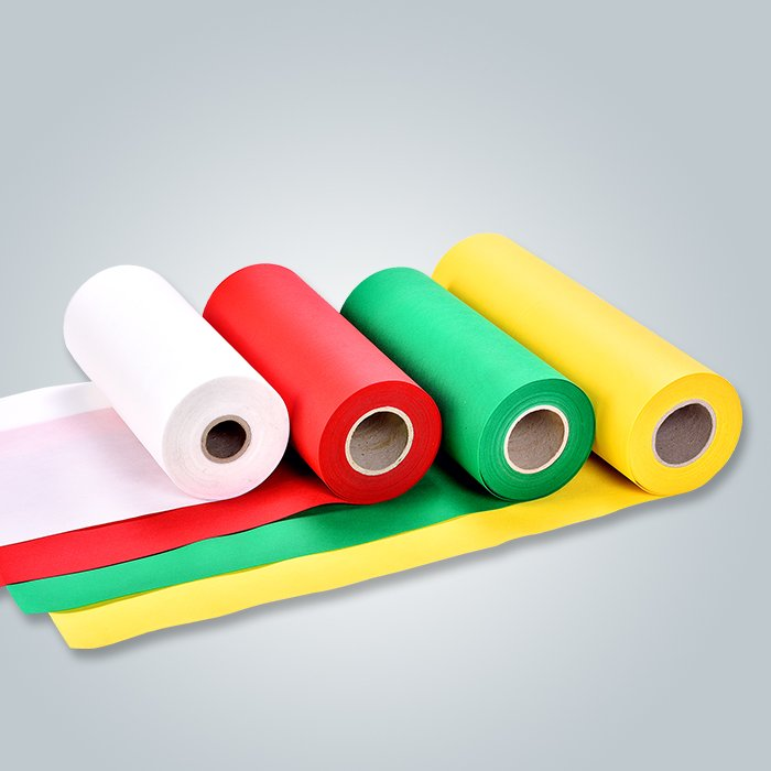 EK Standard Full Color Range Fire Retardant Non Woven Fabric For Furniture