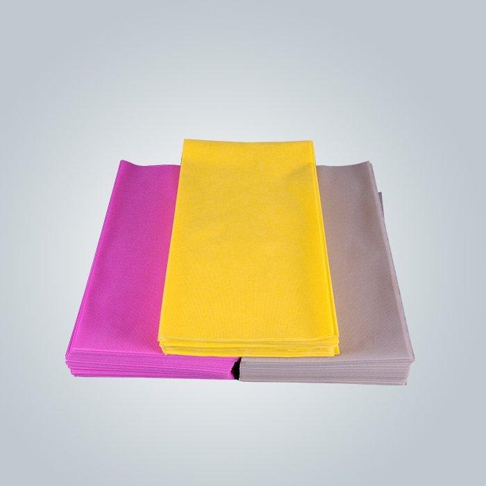 Tnt pre cut table cloth cutting by machine