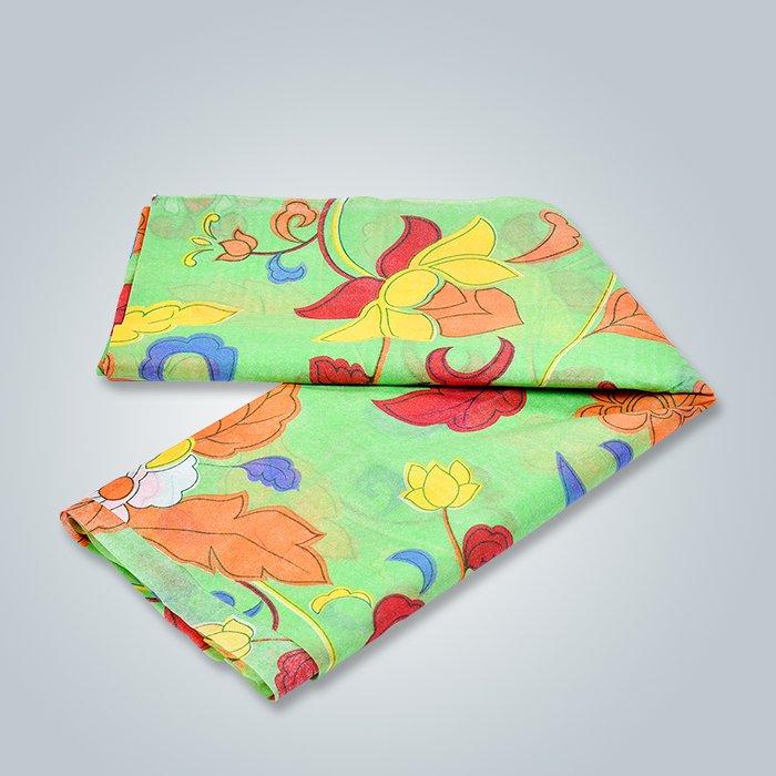 Couvertures non tissées de lit avec le logo imprimé par coutume
