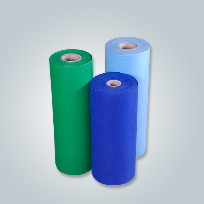Wholesale colorful spun-bond fabric 30-150GSM fabric supplier pp nonwoven fabric