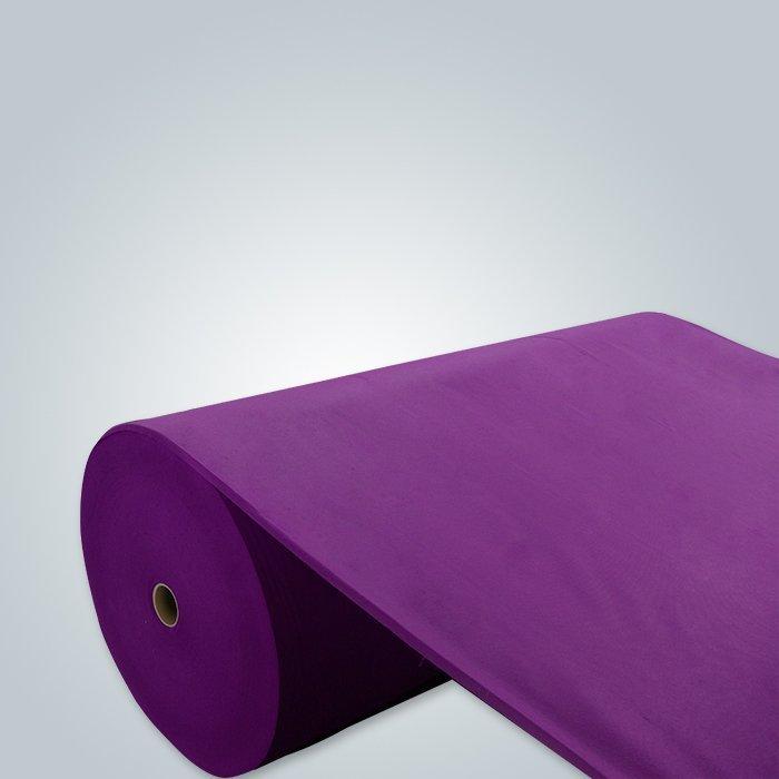 dark purple non woven fabric