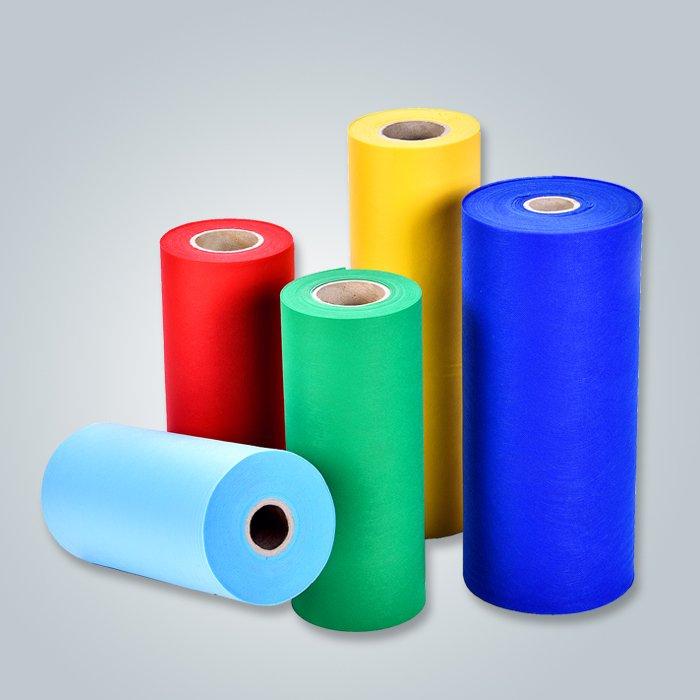 Non-tissé de Spunbond de fournisseur de Foshan pp pour l'usage de sofa avec des couleurs de Muti