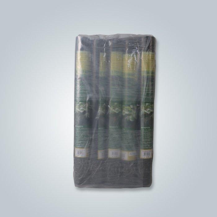 8rolls per pack black landscape fabric