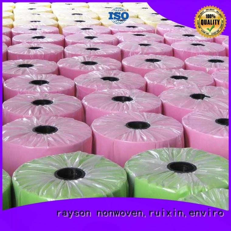 rayson non tissé, ruixin, enviro Marque de fleurs spunbond fabrication de machine de tissu non tissé