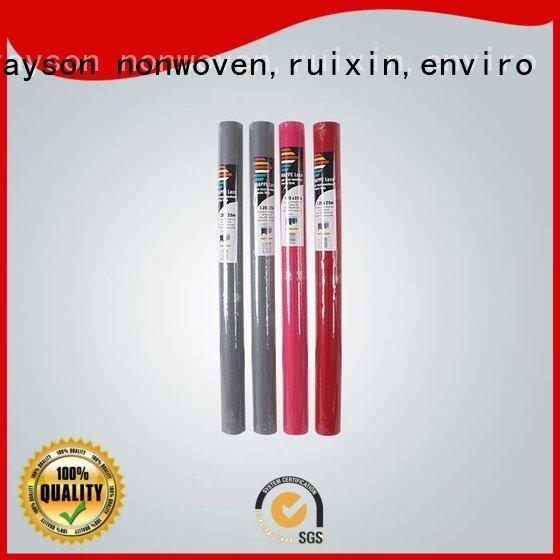 Hot non woven polypropylene fabric suppliers precut green chair rayson nonwoven,ruixin,enviro Brand