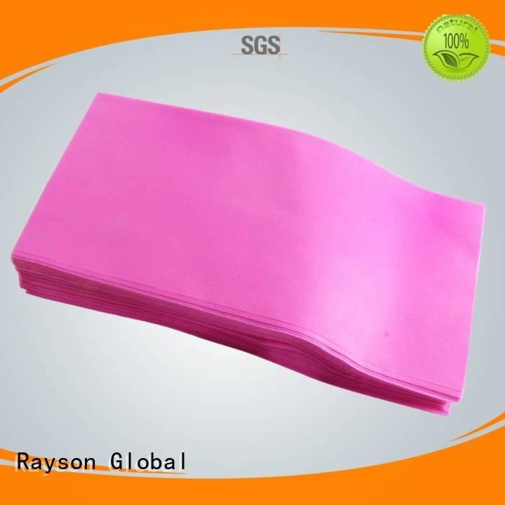 rayson nonwoven,ruixin,enviro easy massage pp non woven fabric price table fabric