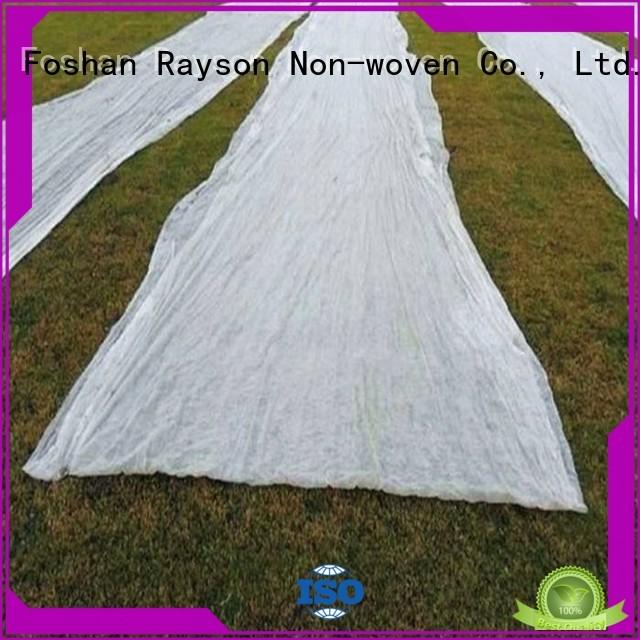 landscape fabric drainage mulching surpress winter rayson nonwoven,ruixin,enviro Brand company