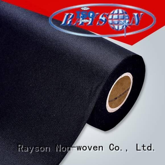 rayson nonwoven ، ruixin ، enviro العلامة التجارية أقمشة قطع جودة آلة النسيج محبوكة