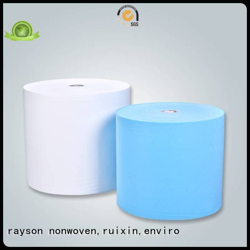 rayson nonwoven,ruixin,enviro Brand ss double light non woven fabric price top