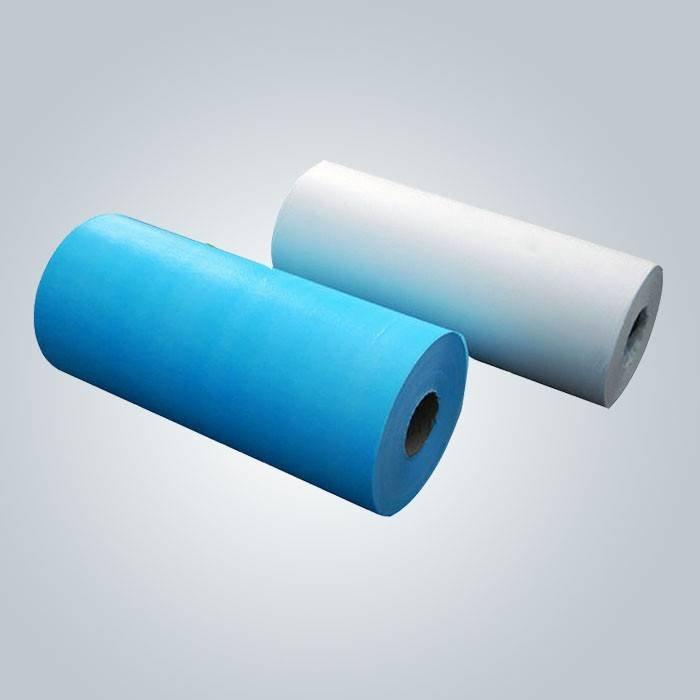 SMS Spunbond poliéster ou não tecido spunbond uso cirúrgico colthes