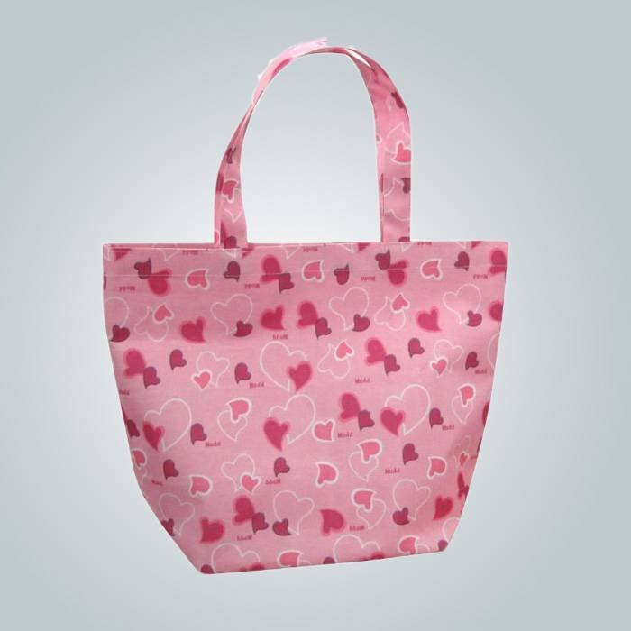 إيكو--حقيبة تسوق غير منسوجة البولي بروبلين ودية مع أنماط الطباعة