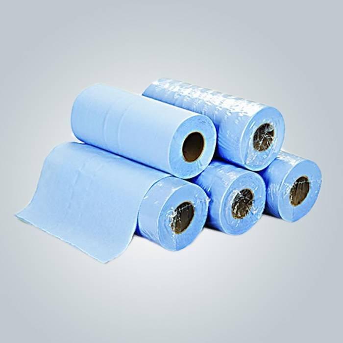 スパの使い捨ての紙ベッド シート、110 * 210 cm SMS シーツ ピンク美容ベッド カバー