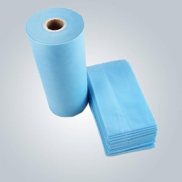मेडिकल नीले रंग एसएमएस spunbond nonwoven व्यापक रूप से चिकित्सा कपड़े