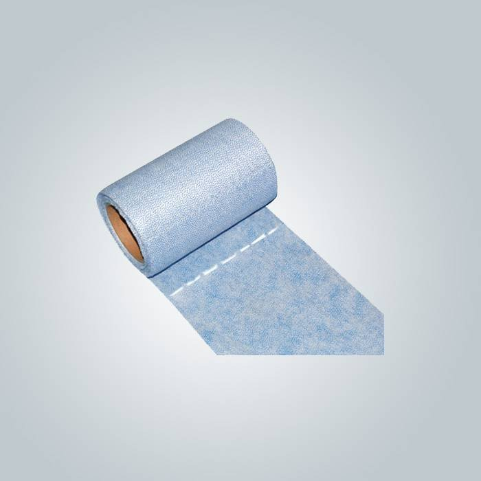 PP nonwoven rolls fabric with punching hole or perforate