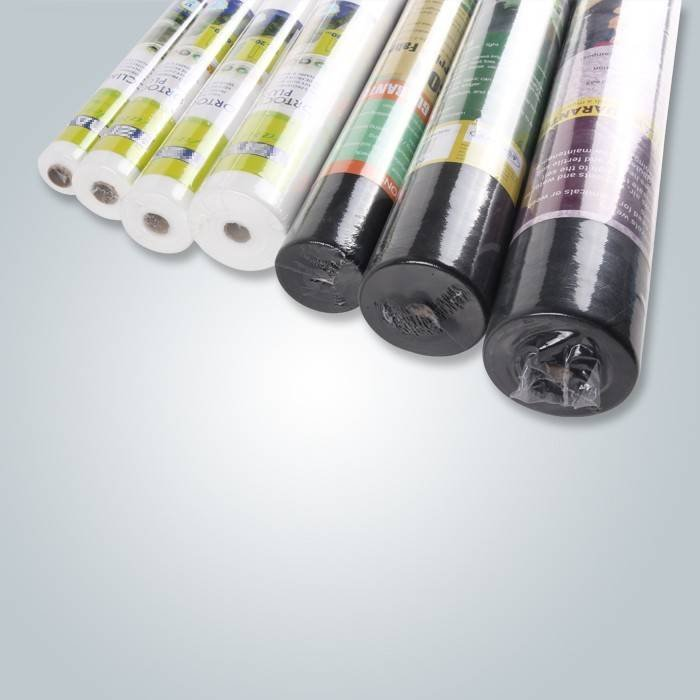 SGS Test Approved 70gsm Black Color Garden Weed Control Fabric Used For Weed Surpress